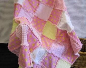 Handmade Baby Rag Quilt -C38