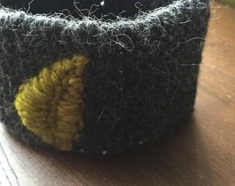 Embroidered Ear Warmer Headband