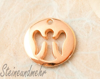 1 x pendant rose gold guardian angel art. 2102