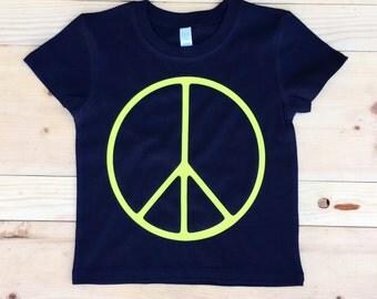 Peace Tee (Neon)