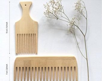 Bamboo Weaving Comb / Weaving Tool / Bamboe kam