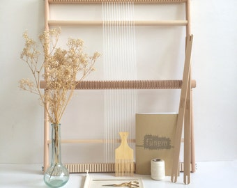 Weaving Loom Kit XXL / Starter's kit / Weaving Loom / Weefraam / Kit de Tissage debutant