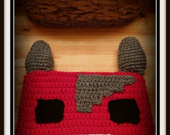 Stampy Long Nose Cat Knitted