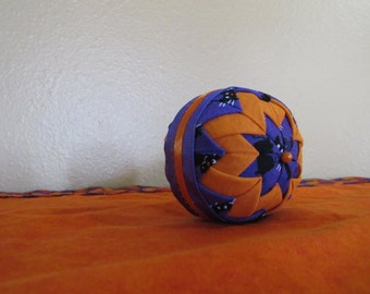 Halloween Whimsical Ball with Cats