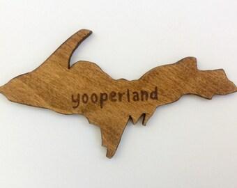 Upper Peninsula Magnet - Yooperland