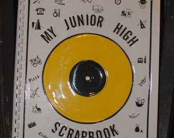 1965 Vintage/Retro Unused Junior High Scrapbook