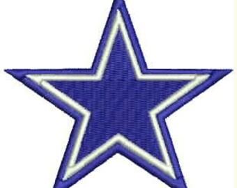 Cowboys Embroidery Design