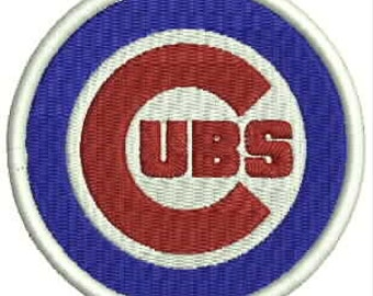 Chicago Cubs Embroidery Design