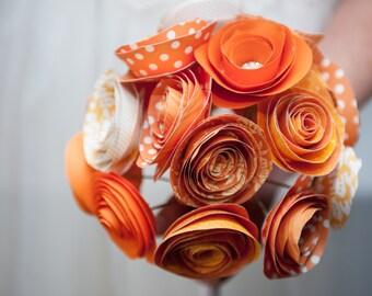 Paper Flower Bouquet: custom colors