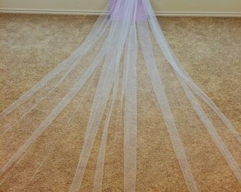 Cathedral Length Veil-Ivory