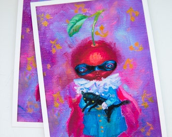 Supercherry limited edition prints