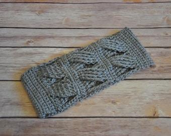 Crochet Headband, Ear Warmer Crochet Headband, Winter Warm Headband