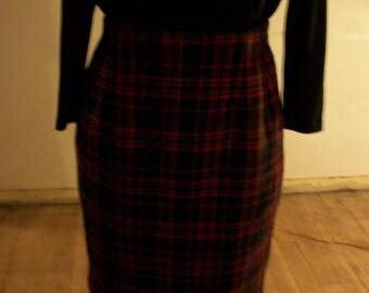 Womens Norton Mc NAUGHTON Plaid Skirt Size 10