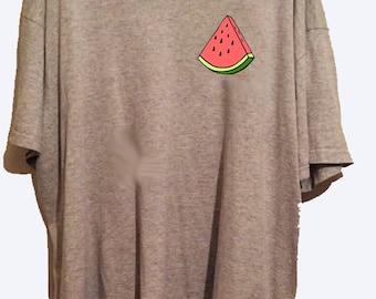watermelon slice tshirt