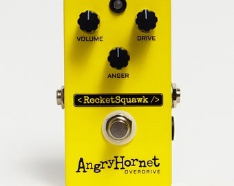 RocketSquawk Angry Hornet Overdrive Effect Pedal