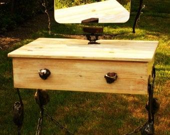 handmade dressing table