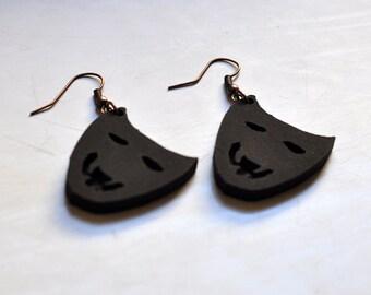 Happy Mask Earrings