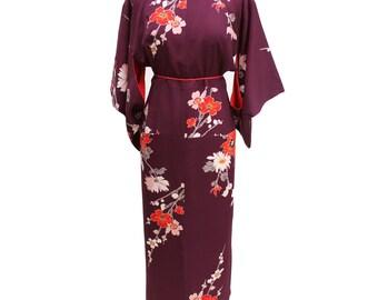 Dress kimono flower