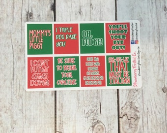 MINI A Christmas Story Inspired Quote Boxes-