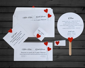 WEDDING hearts INVOLVEMENT applied
