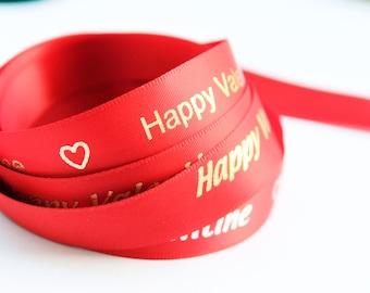 10 yards Custom Text Ribbon Personalized Ribbon  Printed Ribbon  Satin Ribbon  Favor Ribbon  Imprinted Ribbon  Custom Ribbon