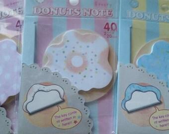 Donut Sticky Notes
