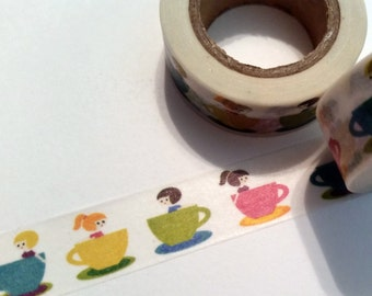 Teacup Ride Washi Tape