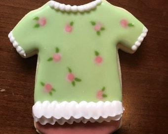1 dozen Baby Onesie Cookies