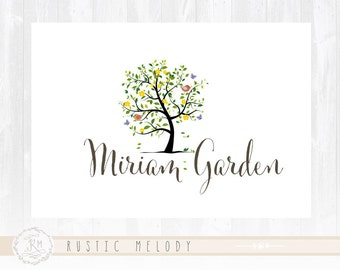 Tree Logo Design Premade Logo Design Photography Logo Bird Logo Design Watermark Logo