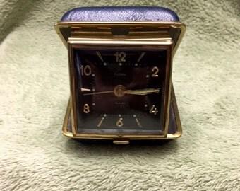 Vintage Florn Travel Clock