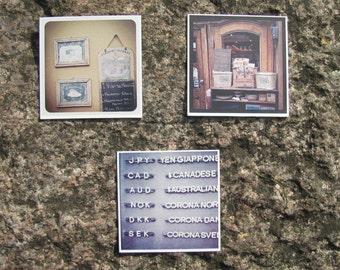 "Set of 3 fridge magnets ""Florence"""