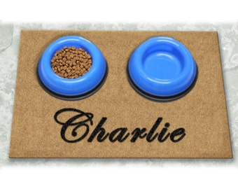 D60713 - 12 x 18 DuraCoir Pet Placemats - Plain Personalized