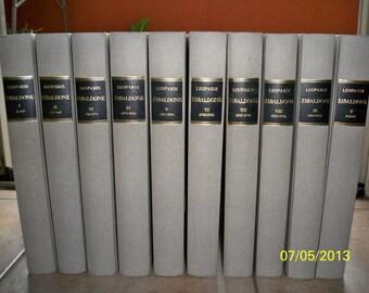 """Opera completa """"Lo Zibaldone"""" di GIACOMO LEOPARDI - Complete Works Books """"Lo Zibaldone"""" by Giacomo Leopardi"""