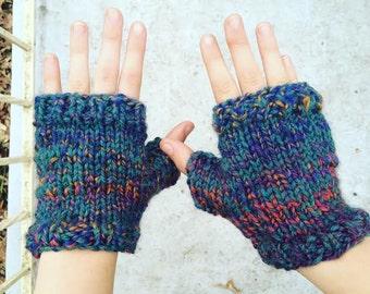 Handknit Fingerless Gloves