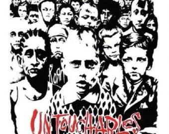 Rare Vintage Korn Untouchables CD Cover Johnathan Davis Munky Fieldy Head Vinyl Bumper Sticker-New!