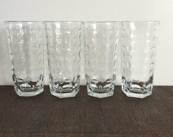 Libbey Crisa Glasses - Set of 4