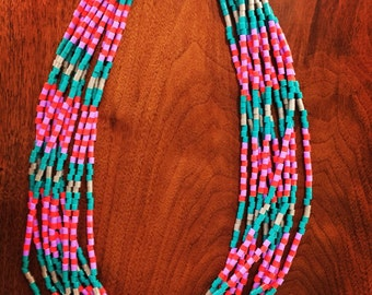 fun, colorful, lightweight necklace