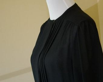 1970 Black Dress Vintage  Roth Lecover!! by Dorila