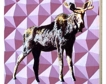 Alaska Moose Panel