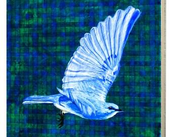 Nevada Mountain Bluebird Panel