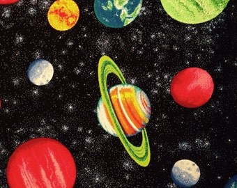 SALE! Planets in Space Messenger Book Bag Tote