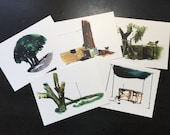 Doghouses of Guam postcard set