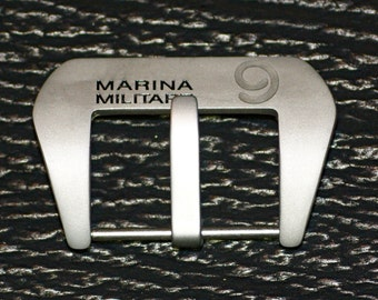 Pre-V Buckle Stainless Steel 24mm