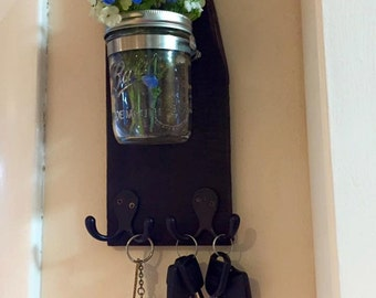 country chic key holder