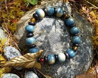 Beaded Forest Elf Bracelet