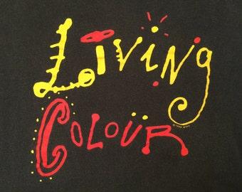 "1993 Living Colour ""W.T.F.F. On Tour"" T-shirt"