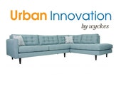 Oliver Tufted Mid Century Modern Custom Sectional by Urban Innovation