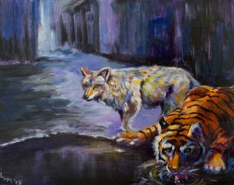 Coyote and Tiger