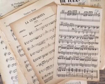Vintage Orchestra Sheet Music