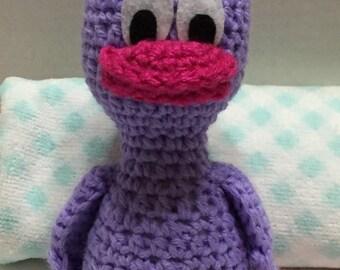 Crocheted Duck, Easter Duck,Duck Amigurumi, Duck Doll